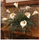 Peace Lily Silk Arrangement